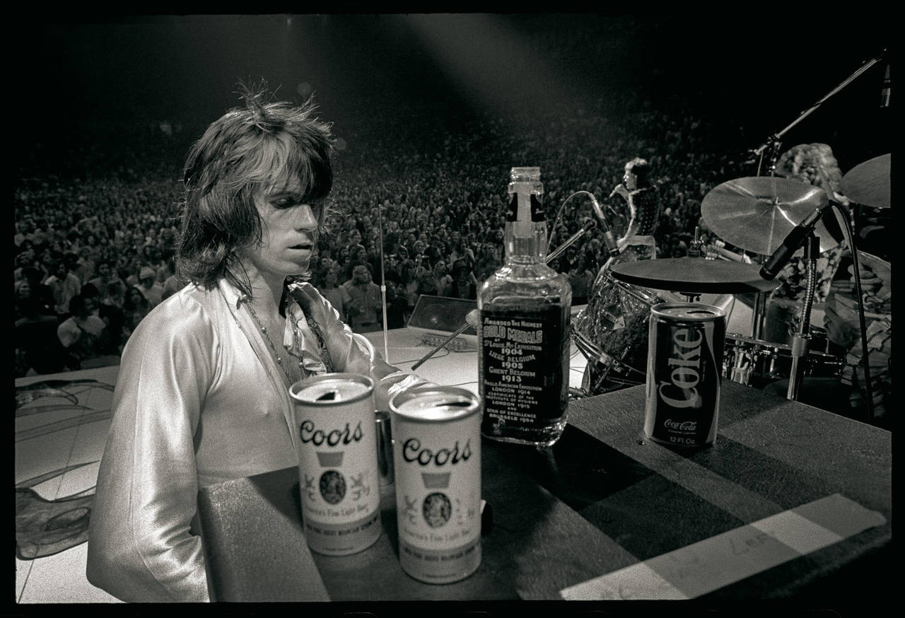 Keith Richards Jack Daniels on stage.jpg